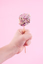 Marshmallow pop Royalty Free Stock Photo