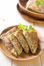 Martabak or murtabak also mutabbaq is a stuffed pancake is commonly found in arab Stock Image