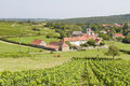 Martailly les brancion burgundy france Stock Image
