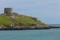 Martello står hög. Dalkey ö. Irland Royaltyfria Bilder