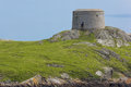 Martello Tower. Dalkey island. Ireland Royalty Free Stock Photos