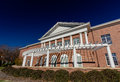 Martha S. and Carl H. Linder III Hall at Elon University Royalty Free Stock Photo
