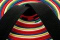 Martial Arts Belts - circle Royalty Free Stock Photo