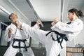Martial arts master Royalty Free Stock Photo