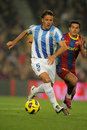 Martin Demichelis of Malaga Royalty Free Stock Photography
