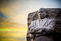 Martin luther king jr memorial the statue for in west potomac park washington d c Royalty Free Stock Photos