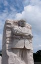 Martin luther king memorial washington on the national mall Royalty Free Stock Photography