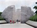 Martin luther king memorial washington on the national mall Stock Photo