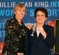 Martina Navratilova and Billie Jean King Royalty Free Stock Photo