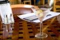 Martini at Happy Hour Royalty Free Stock Photo