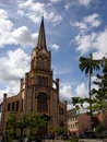 Martinique Island Cathedral Royalty Free Stock Photography