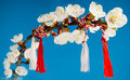 Martisor spring holiday is an old romanian celebration at the beginning of on march the st Stock Photos
