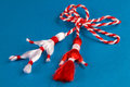 Martisor - vacances de source Images stock