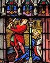 Martyrdom of Saint Eugene Royalty Free Stock Photo