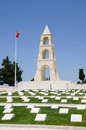 Martyrs' Memorial For 57th Infantry Regiment, CAnakkale Royalty Free Stock Photo