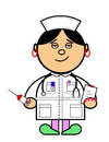 Maru nurse Royalty Free Stock Image