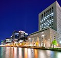 Marunouchi business district in tokyo japan Royalty Free Stock Photography