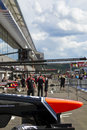 Marussia F1 Royalty Free Stock Photo