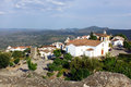 Marvao alentejo portugal the medieval town of Royalty Free Stock Images