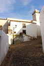 Marvao alentejo portugal the medieval town of Royalty Free Stock Photo