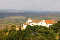 Marvao alentejo portugal the medieval town of Royalty Free Stock Photos