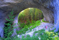 Marvelous bridges bulgaria the or wonderful are natural arches in the rhodope mountains of southern they are located in Stock Photography