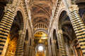 Marvelous dome of siena cathedral masterpiece of italian renaissance art Stock Photo