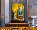 Mary Baby Jesus Statue Santa Maria Novella Church Florence Italy Royalty Free Stock Photo
