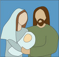 Mary and Joseph Royalty Free Stock Images