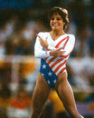 Mary lou retton us gymnast former usa olympic champion image taken from color slide Royalty Free Stock Image