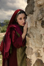 Mary Magdalene crying at Jesus empty tomb