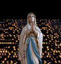 Mary (mother of Jesus). Royalty Free Stock Photo