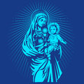 Mary mother of jesus Royalty Free Stock Photo