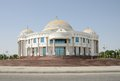 Mary turkmenistan marble building in city is located close to ancient merv historical sites located on the ancient silk road Stock Images