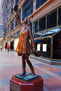 Mary Tyler Moore statue in Minneapolis Royalty Free Stock Photo