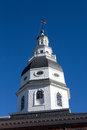Maryland Capitol Dome Annapolis Maryland Royalty Free Stock Photo