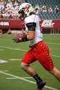 Maryland receiver #88 P.J. Gallo Stock Image