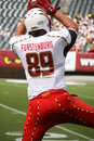 Maryland Tight End # 89 Matt Furstenburg Royalty Free Stock Photography