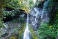 Marymere Falls Royalty Free Stock Photo
