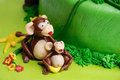 Marzipan monkey Royalty Free Stock Photos