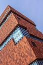 Mas Museum Antwerp, Belgium. Royalty Free Stock Photo