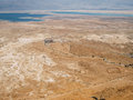 Masada Archaeological Site Royalty Free Stock Photo