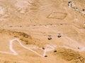 Masada Cable Car Royalty Free Stock Photo