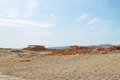 Masada Fortification - Israel Royalty Free Stock Photo