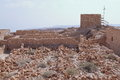 Masada Fortification ruins - Israel Royalty Free Stock Photo