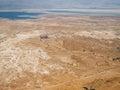 Masada Landscape Royalty Free Stock Photo