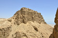 Masada mountain, Israel. Stock Photography