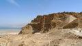 Masada stronghold tourist site dead sea judea desert israel Royalty Free Stock Photography