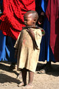 Masai child Royalty Free Stock Photography