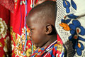 Masai Child (Kenya) Stock Photo